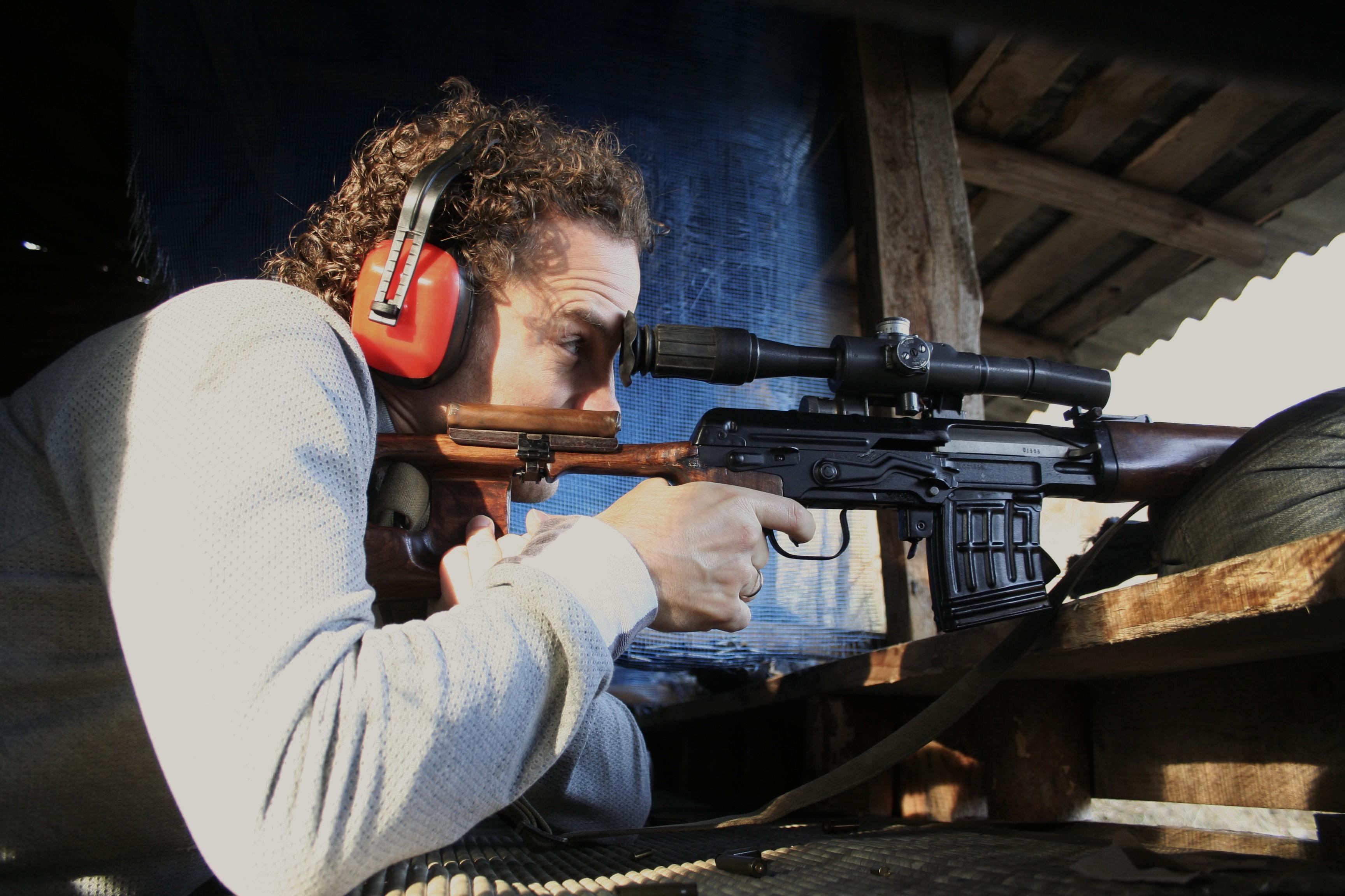 Dragunov schieten in Kiev