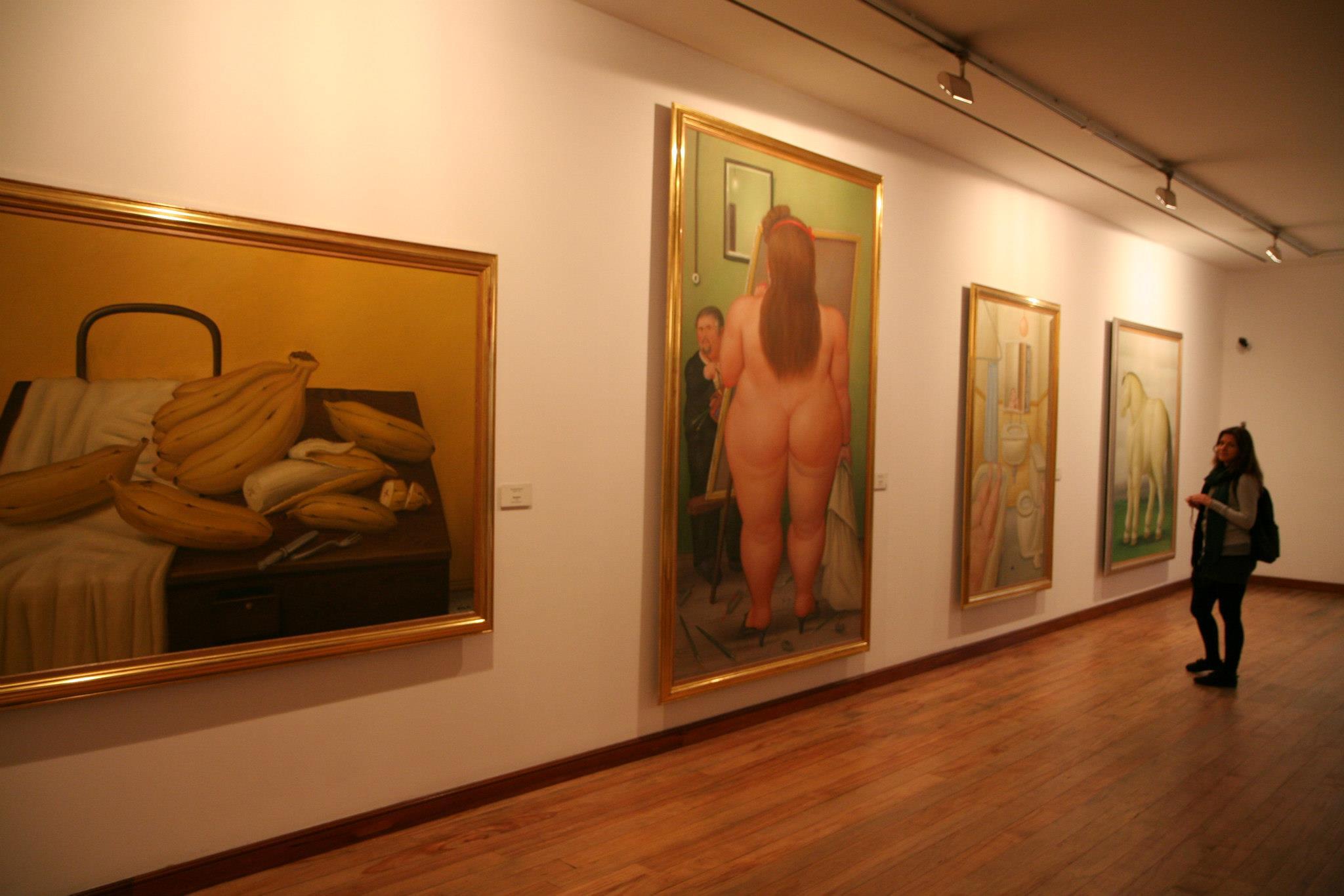 Fernando Botero museum in Bogotá