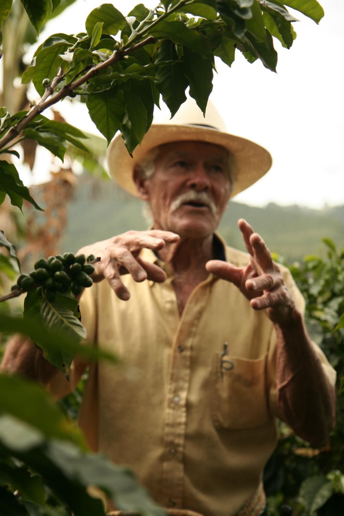 Op bezoek bij Don Elías, koffieboer in Salento