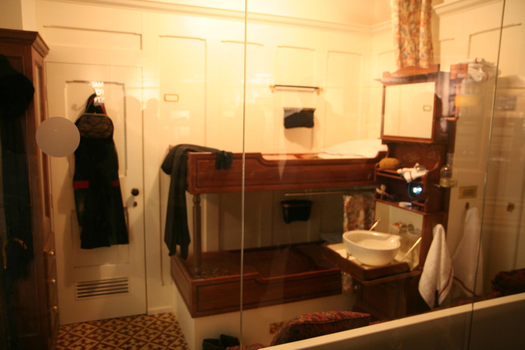 Originele hut uit de Titanic