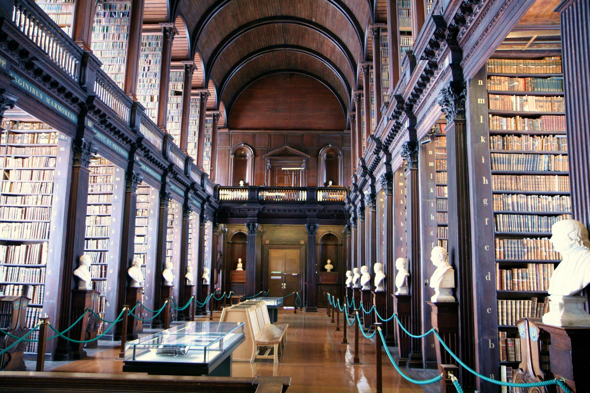 Bibliotheek van Trinity College in Dublin
