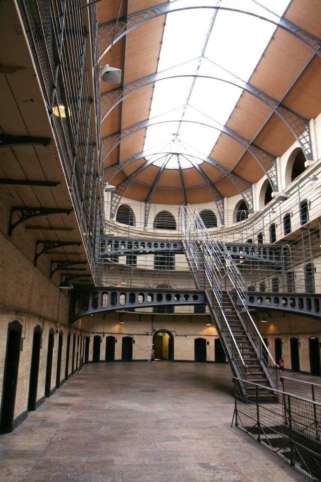 Kilmainham Gaol gevangenis in Dublin (bekend van diverse films)
