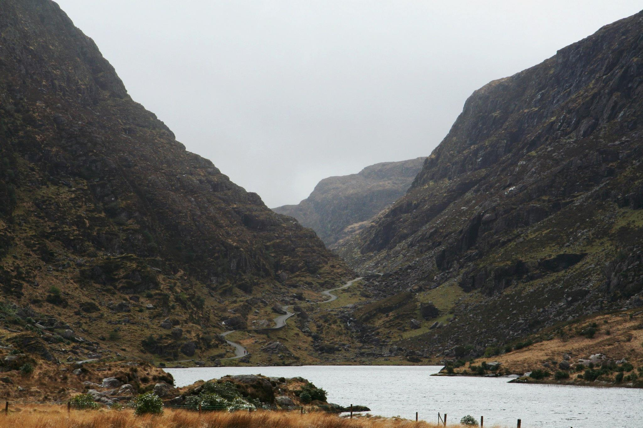De Gap of Dunloe, aan de rand van Killarney national park