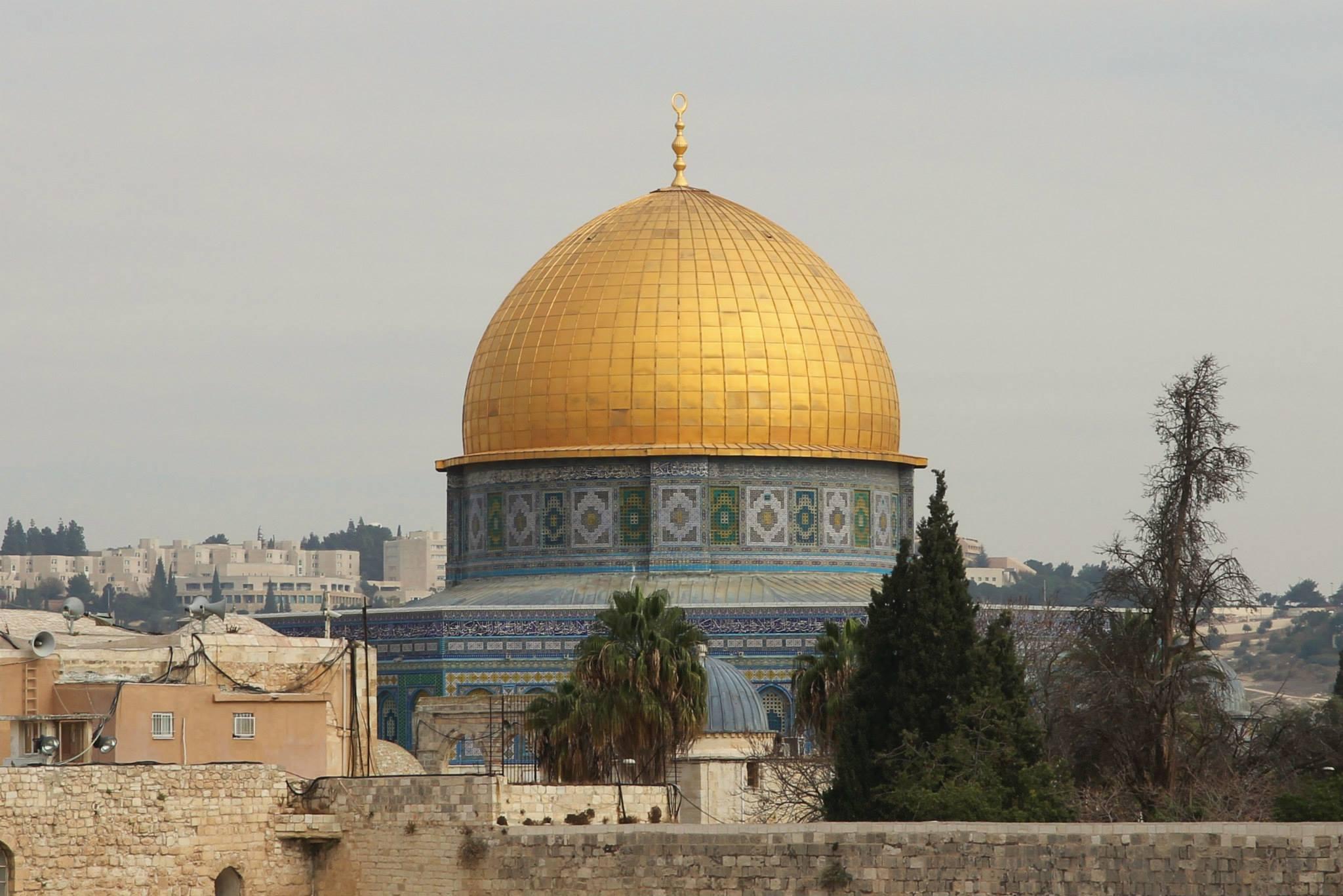 De Al'Aqsa moskee in Jerusalem
