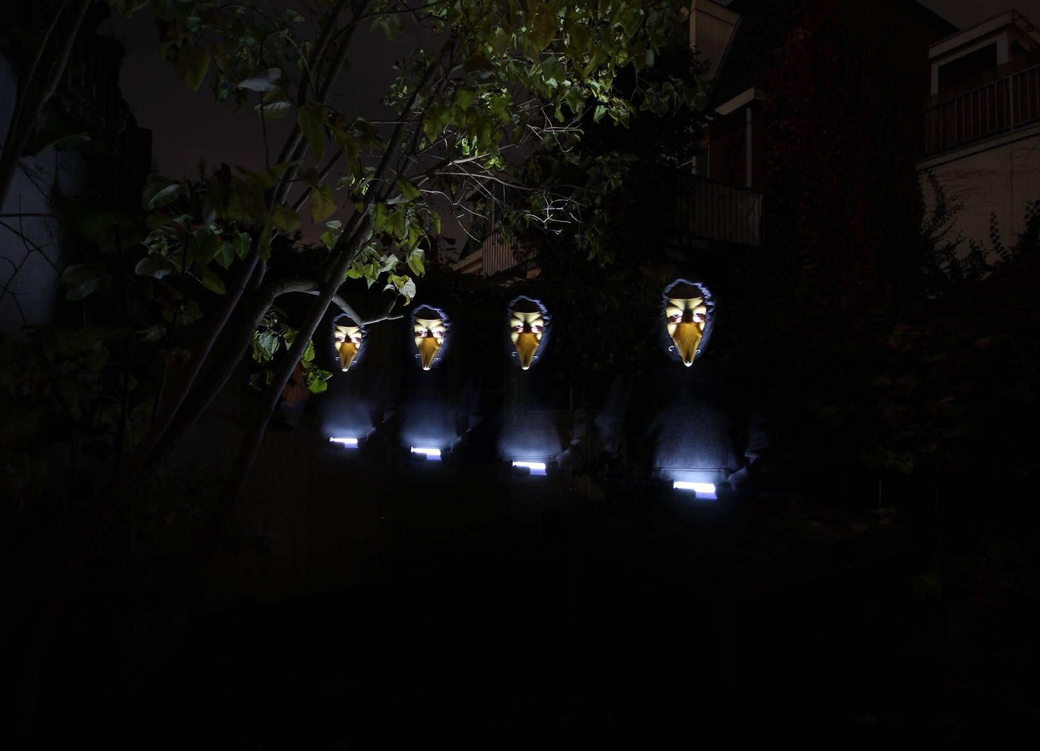 Spookytime in de achtertuin
