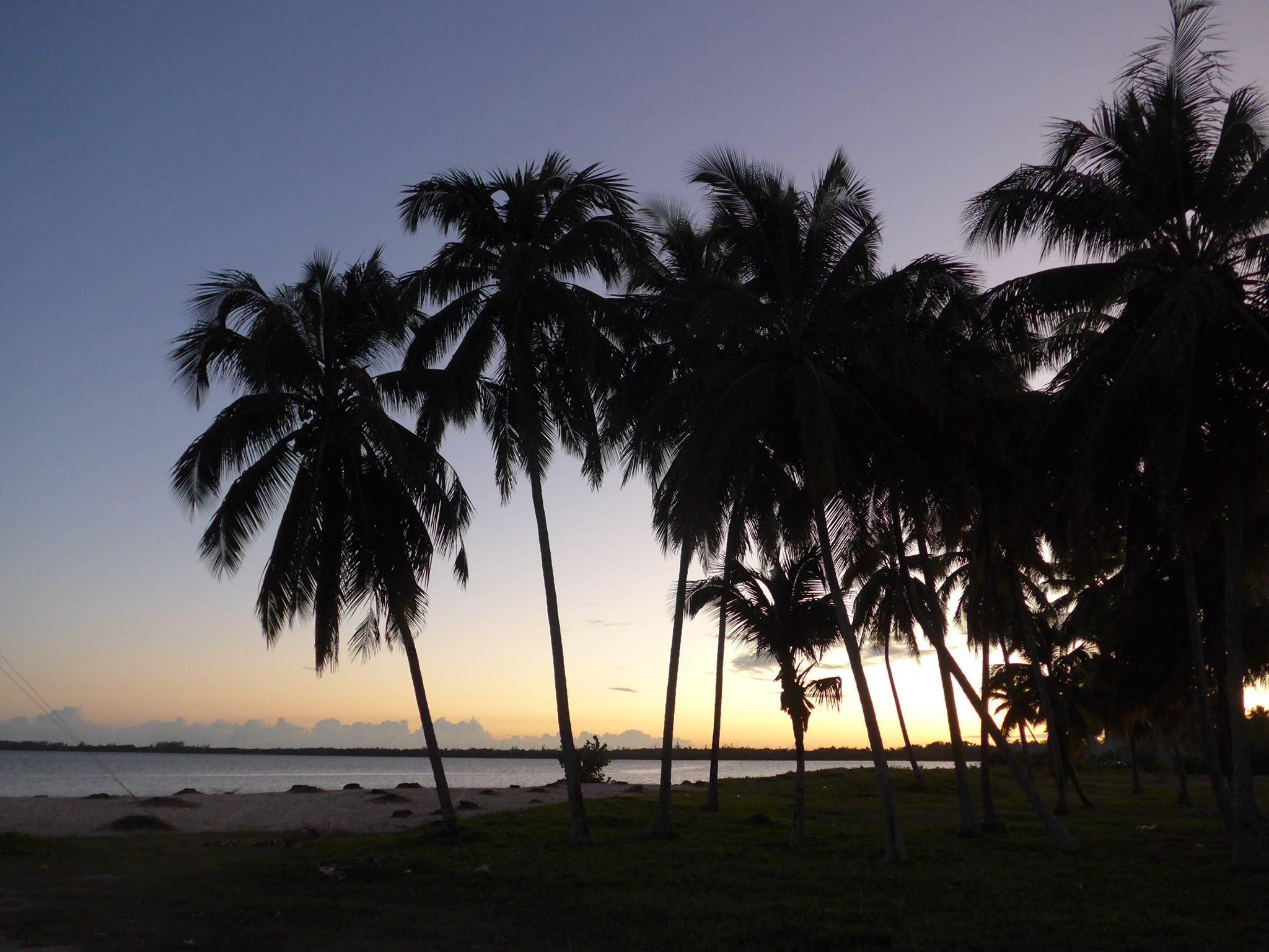 Het strand bij Caletón, in de Varkensbaai.